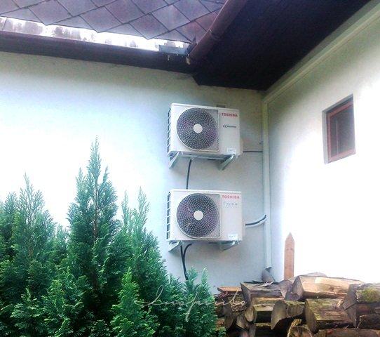 RD Janov - klimatizace Toshiba